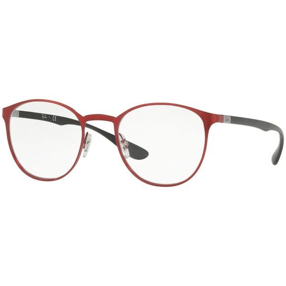 88b73f86ecc Ray-Ban Eyeglasses Red w Demo Lens